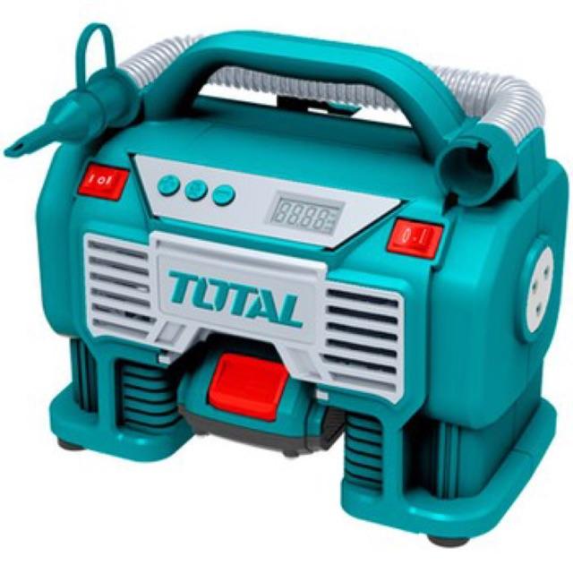Máy bơm hơi oto xài pin 20v total TACLI2002
