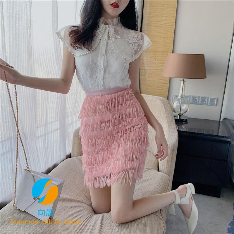 Set áo sơ mi dài tay phối chân váy lưới xuyên thấu thời trang dành cho nữ - 22427555 , 2875609267 , 322_2875609267 , 343840 , Set-ao-so-mi-dai-tay-phoi-chan-vay-luoi-xuyen-thau-thoi-trang-danh-cho-nu-322_2875609267 , shopee.vn , Set áo sơ mi dài tay phối chân váy lưới xuyên thấu thời trang dành cho nữ