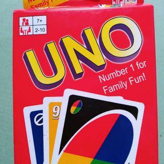 Uno 1 bộ đủ 108 lá bài