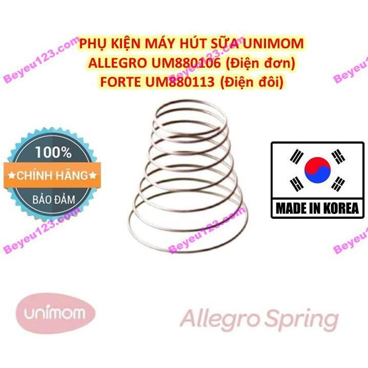 (Chính hãng) 1-2 Lò xo đẩy - Phụ kiện máy hút sữa điện đơn Unimom Allegro UM880106 (Made in Korea)
