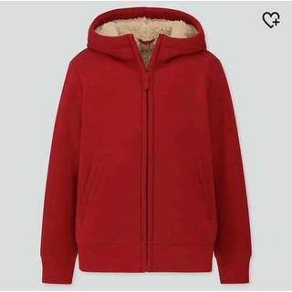 áo khoác nỉ Uniqlo lót lông cừu