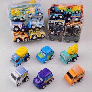 Túi 6 ô tô đồ chơi cho bé