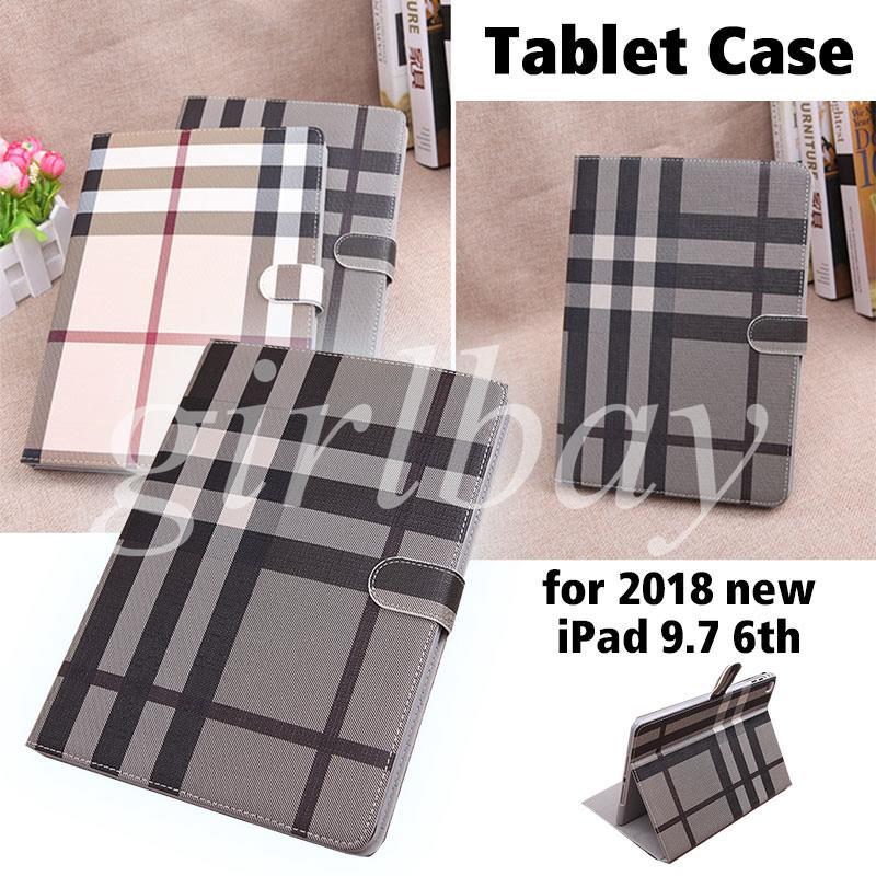 King New Ipad 9.7 Tablet Case Smart Cover Dustproof Shockproof Ultrathin Durable Foldable