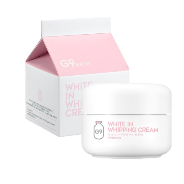 Kem dưỡng trắng da G9 Skin White In Whipping Cream