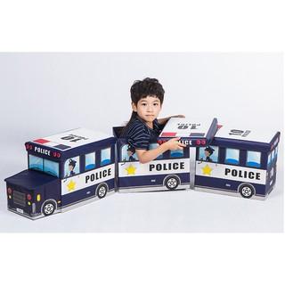 Thùng đựng đồ chơi cho bé thùng đựng đồ dùng cho bé hình xe cảnh sát
