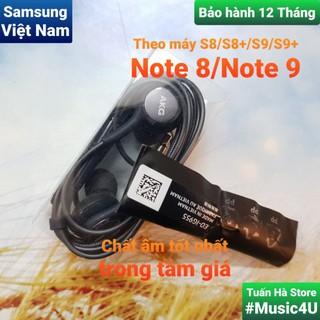 Tai nghe AKG Jack 3.5mm cho Samsung S7 S8 Note 8 S9 Note 9 âm chuẩn bền bỉ Tuấn Hà Store