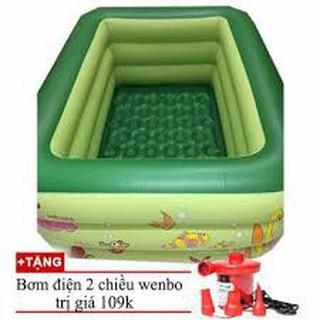 Bể bơi 210 cm tặng kèm bơm bể s2bibs2