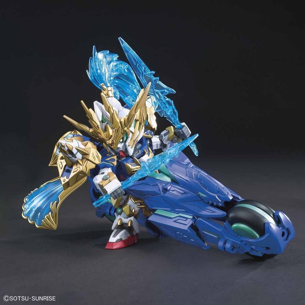 Đồ chơi Lắp ráp Mô hình Gundam Bandai SD BB 07 Zhao Yun 00 Gundam& Blue Dragon Drive Serie SD...