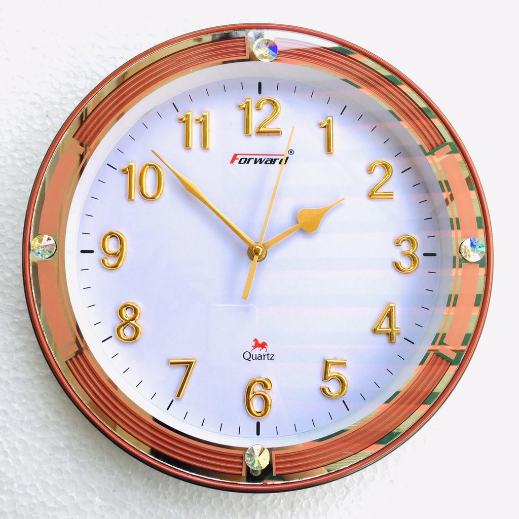 Đồng hồ treo tường Forward (P140) vàng nâu