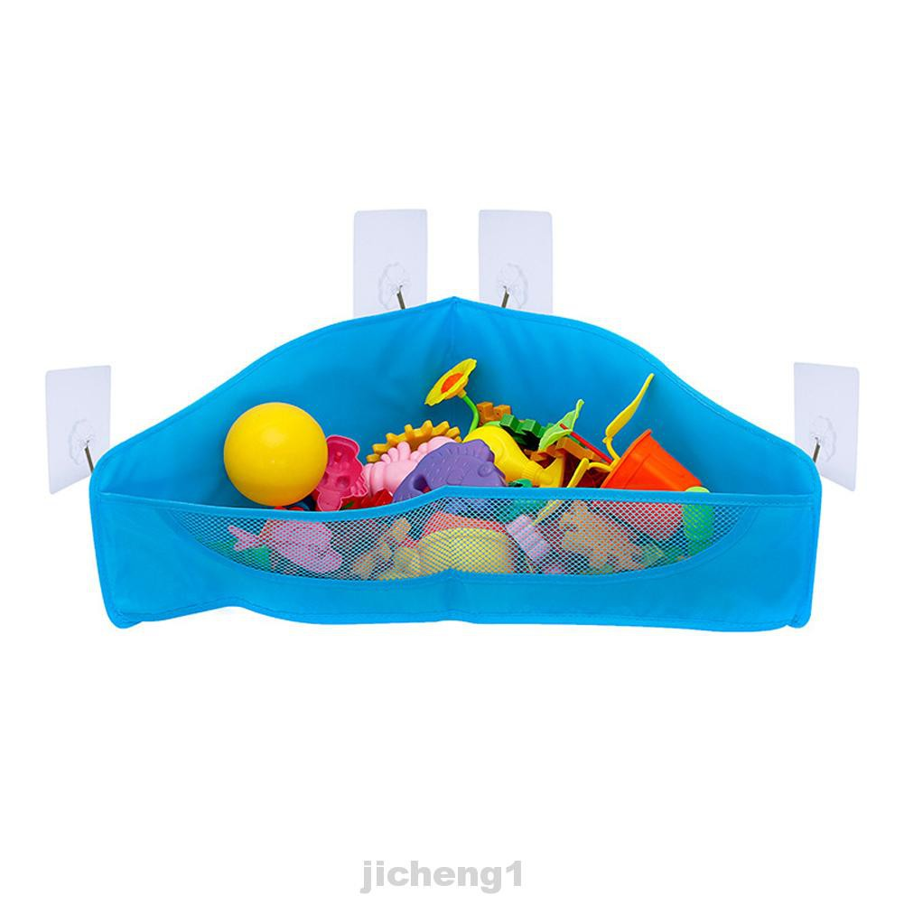 Bath Toy Durable Hanging Mesh Space Saving Storage Bag