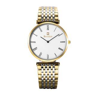 Đồng hồ nam Bestdon BD9921AG dây thép (Vàng phối bạc)