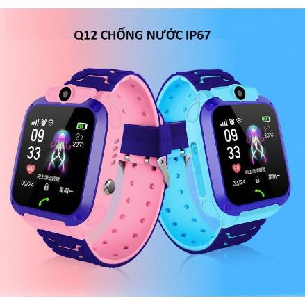 Wonlex S456 – Đồng hồ định vị trẻ em có Camera, kháng nước IP67, GPS/AGPS/LBS