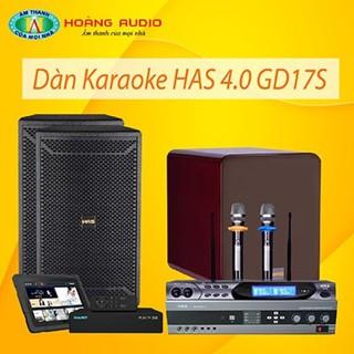 Bộ dàn karaoke gia đình HAS 4.0 GD17S thumbnail