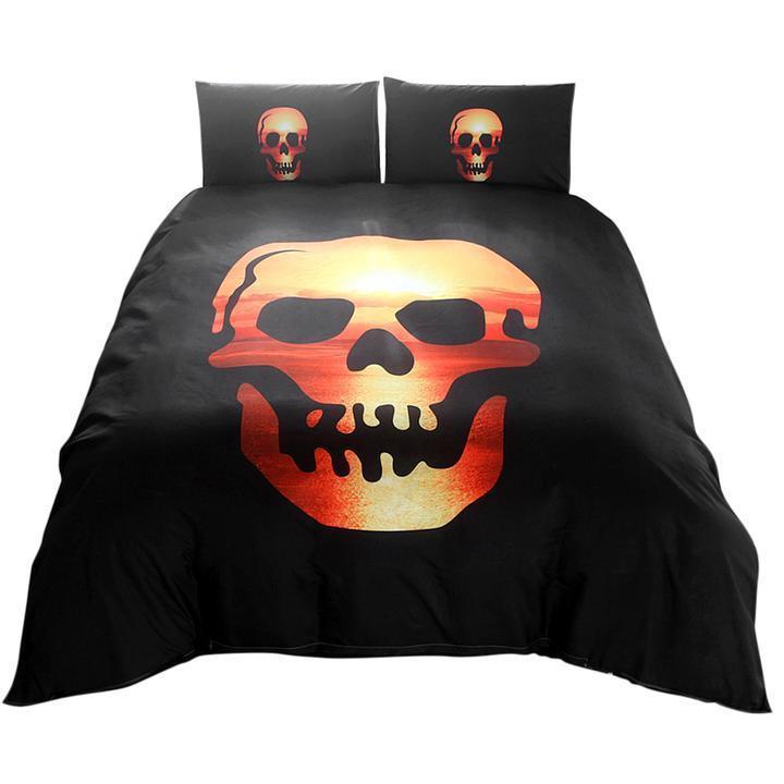 Personatliy Luxury Duvet Cover Set Halloween Bedding set