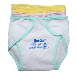 Tã vải Hotga đóng bỉm cho bé sơ sinh (Combo 5 tã)