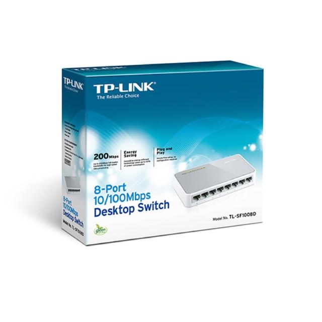 Switch TP-Link TL-SF1008D 8 port (Trắng) bảo hàng 24 tháng - 14644847 , 464518474 , 322_464518474 , 249000 , Switch-TP-Link-TL-SF1008D-8-port-Trang-bao-hang-24-thang-322_464518474 , shopee.vn , Switch TP-Link TL-SF1008D 8 port (Trắng) bảo hàng 24 tháng