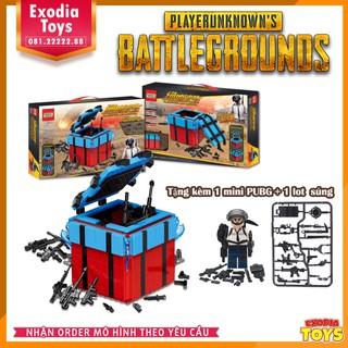 [Nhập mã TOYMAY15 giảm 15K] Hộp thính LEGO PUBG – Airdrop Box PUBG – PlayerUnknown's Battlegrounds