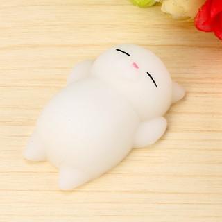 Đồ chơi đàn hồi hình mèo Mochi đáng yêu giúp giảm căng thẳng bán nốt nghỉ