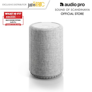 Loa Audio Pro A10 MultiRoom Speaker Light Grey