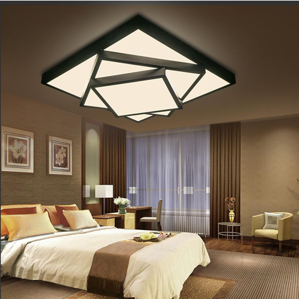Đèn LED vuông gắn trần nhà hiện đại
