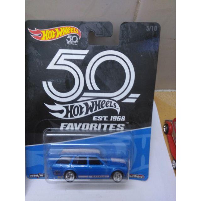 Xe Hotwheels Real Riders 1971 Datsun Bluebird 510 Wagon , hàng hiếm