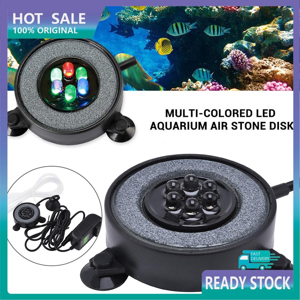 Đèn Led Tròn Đổi Màu Chống Nước Trang Trí Bể Cá
