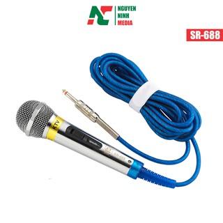 [Mã ELFLASH5 giảm 20K đơn 50K] Micro Karaoke KTV Có Dây SHURI SR-688