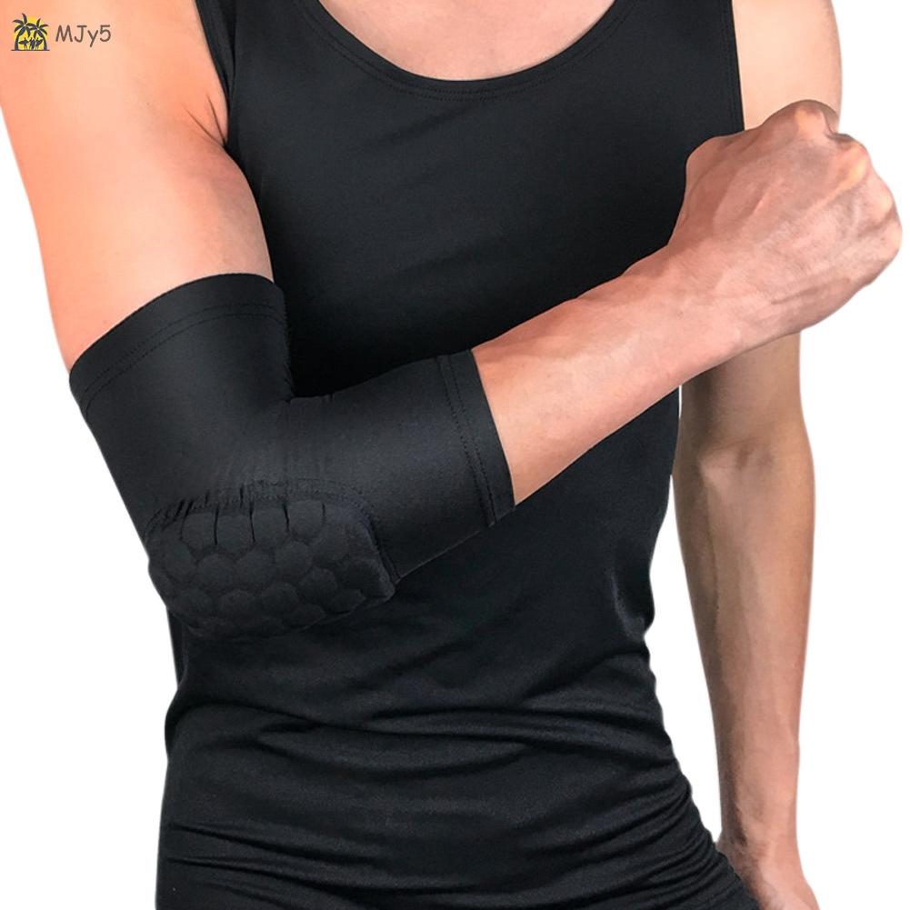 Đai đeo bảo vệ khuỷu tay co giãn tiện dụng chơi thể thao môn tennis/bóng rổ cho nam và nữ