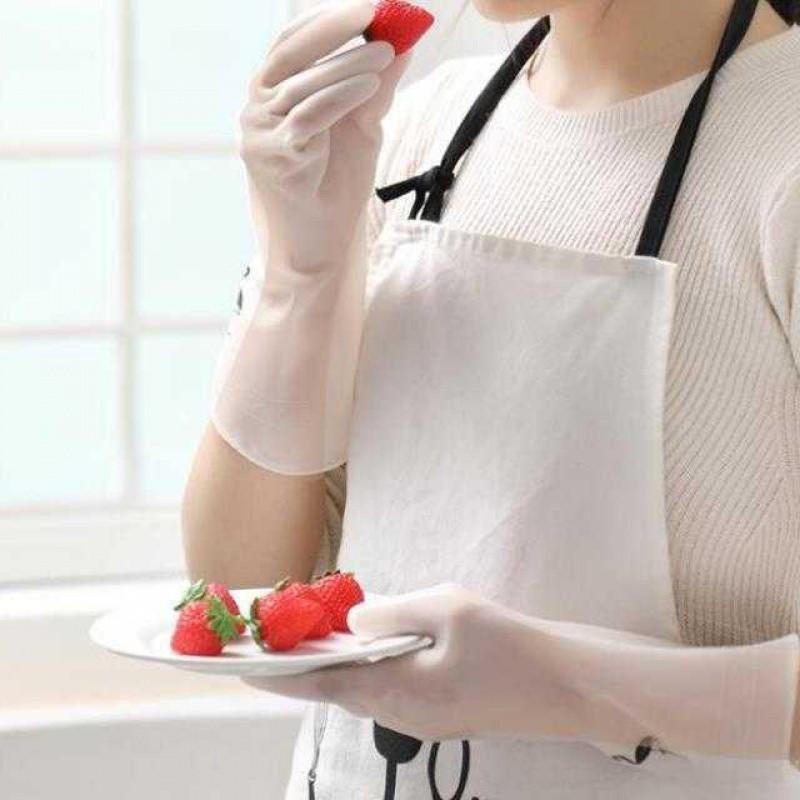 XẢ KHO 3 NGÀY - Gang tay cao su siêu dai con hươu, con cò dùng để rửa bát rửa rau củ quả