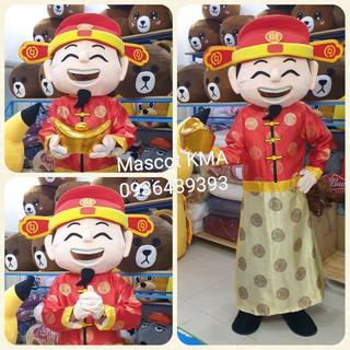 Quần áo hoá trang Mascot Ông Thần Tài cỡ nhỡ – khai trương, khánh thành, sự kiện