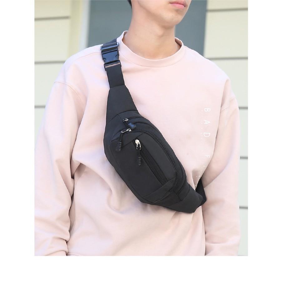 Túi đeo bụng Túi đeo hông  cao cấp vải chống nước Quanlity