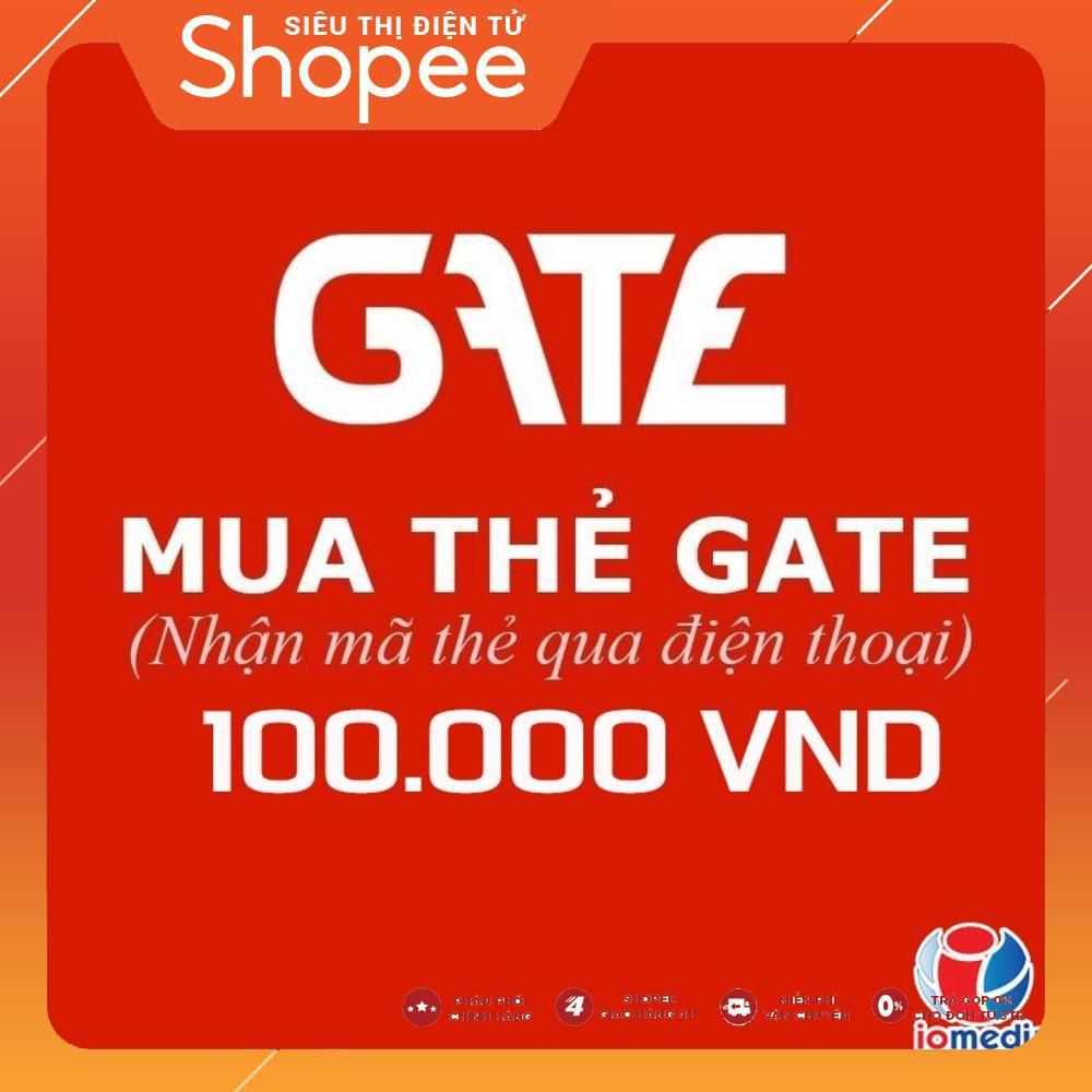 Mua Mã thẻ Gate 100.000