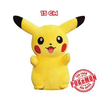Thú bông Pokémon - Pikachu cao 15cm