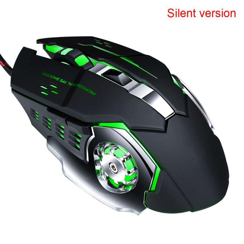 Chuột Gaming Rxsix 4 Gear Dpi 7 Màu