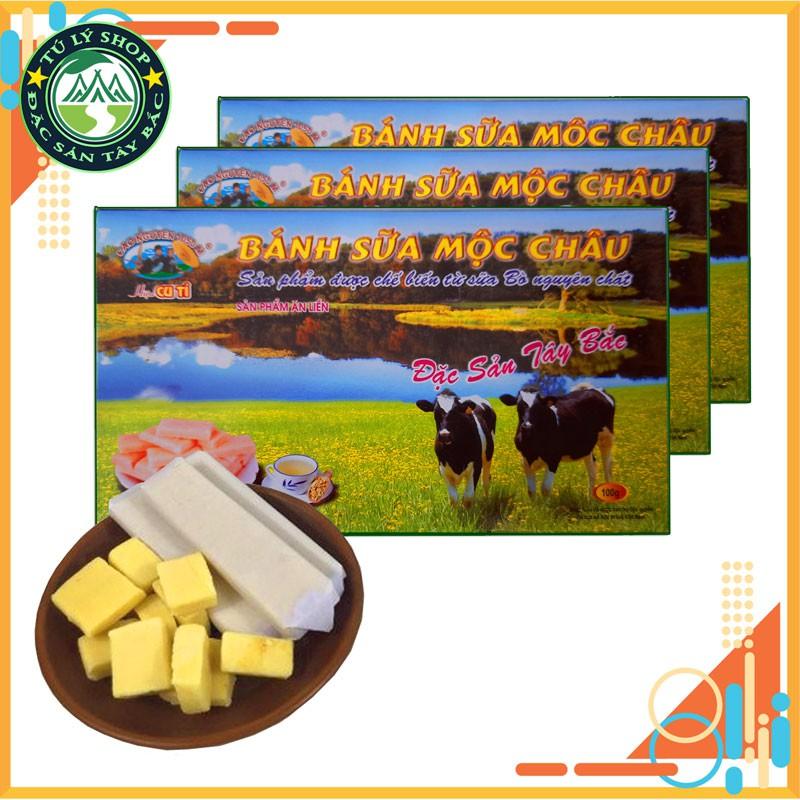 Bánh sữa Mộc Châu (hộp 100g)