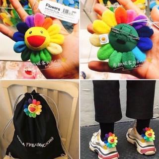 Phụ kiện cài trang trí áo, balo, túi ví Bông hoa Takashi Murakami Kaikai Kiki ( Hoa Cúc ) GD BTS - Sẵn hàng thumbnail