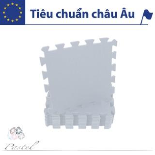 Thảm Xốp Lót Sàn – Đơn Màu Xám Pastel (10 miếng) – Không mùi – Tiêu Chuẩn Châu Âu