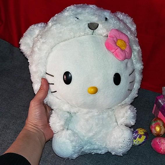 [SALE GIÁ SỐC] XẢ DỌN KHO – Gấu Bông Hello Kitty Cosplay Xinh yêu độc đáo rất mới đẹp 99k