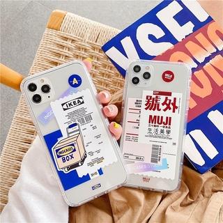 Fashion Ốp Lưng Tpu Mềm Chống Rơi Trong Suốt Cho Xiaomi Redmi 9a Note 9s 9 Pro Note 8 7 6 5 Pro