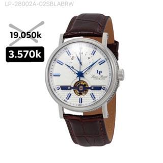 Đồng hồ đeo tay nam Open Heart 24 số bạc tự động thumbnail