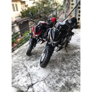 Mô hình mô tô Kawasaki Z800 1:12 (size lớn)