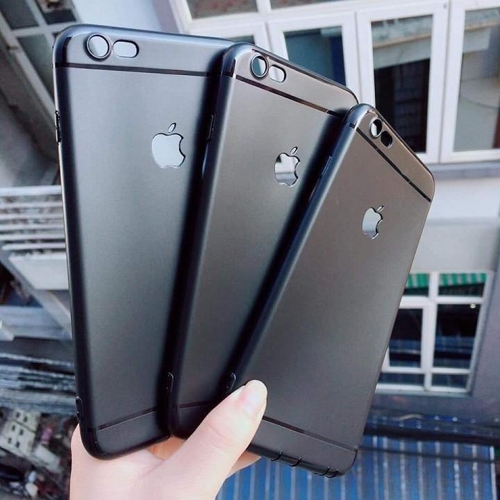 (Giá sỉ) Ốp trơn đen IPHONE 5/6/7/8/PLUS/X/XS/XSMAX