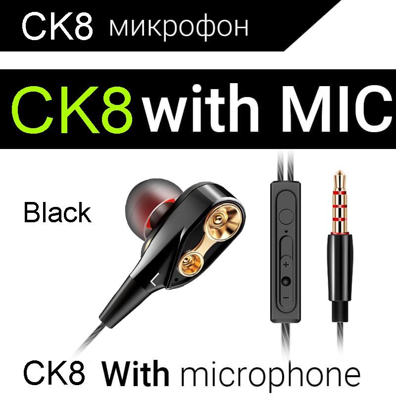 Tai nghe thể thao nhét tai âm thanh HiFi QKZ CK8