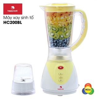 [Mã 2404EL10K giảm 10K đơn 20K] Máy xay sinh tố Happycook HC-200BL 2 cối từ Indonesia