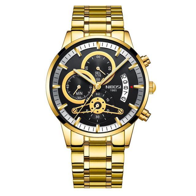 [Tặng vòng tay] Đồng hồ nam NIBOSI chính hãng NI2309-1.09 thời trang fullbox - dây hợ