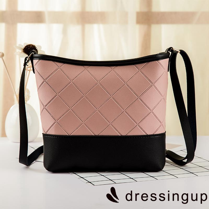 Túi đeo chéo bằng da PU kiểu dáng đơn giản thanh lịch cho nữ
