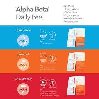 DR DENNIS GROSS Bộ tẩy da chết hoá học Alpha Beta Extra Strength Universal Ultra Gentle Daily Peel thumbnail