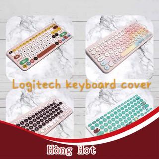 [ Hàng Hot ] Miếng dán cao cấp cho bàn phím Logitech K480 K380 thumbnail