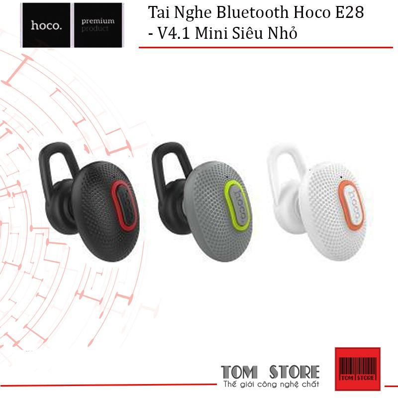 Tai Nghe Bluetooth Hoco E28 V4.1 Mini Siêu Nhỏ - BH 12 Tháng