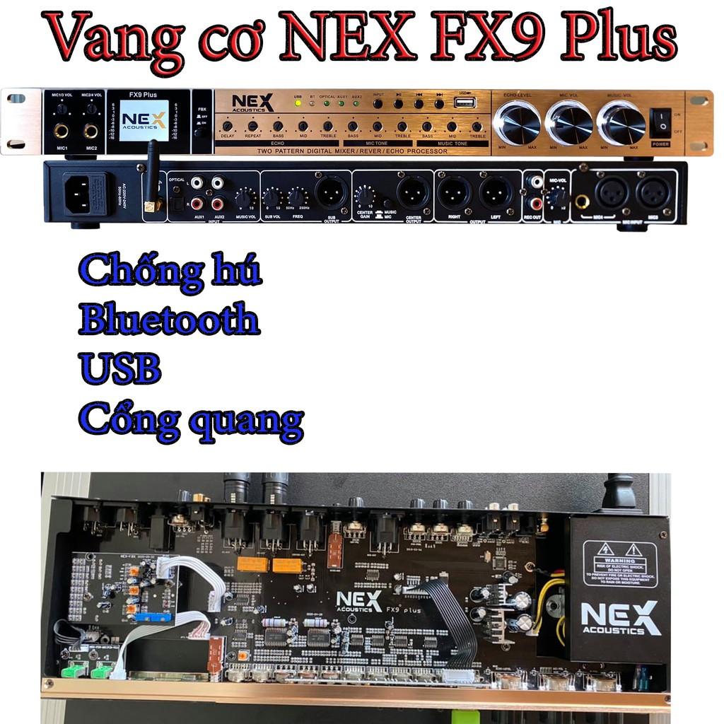 Vang cơ chống hú NEX FX9 Plus, Vang cơ lai số